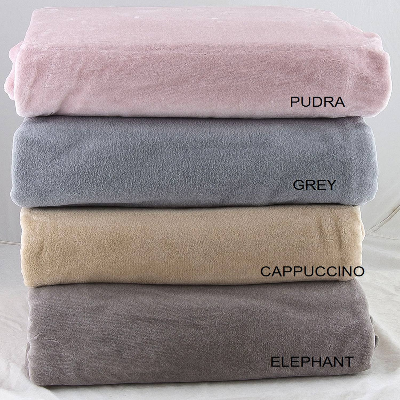 Κουβέρτα Βελουτέ Elegance Lara Elephant Adam Home Υπέρδιπλo 220x240cm