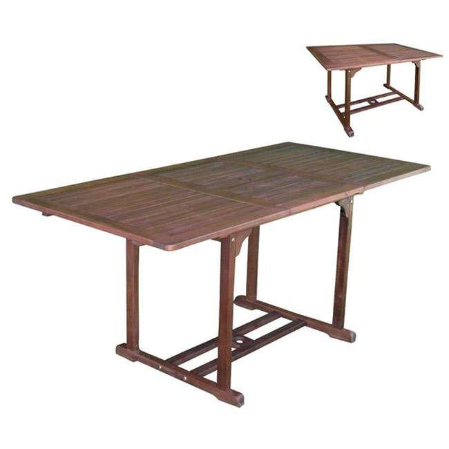 Τραπέζι Επεκτεινόμενο Garden Ε20220,9 Acacia | Φτιάχνω Κήπο