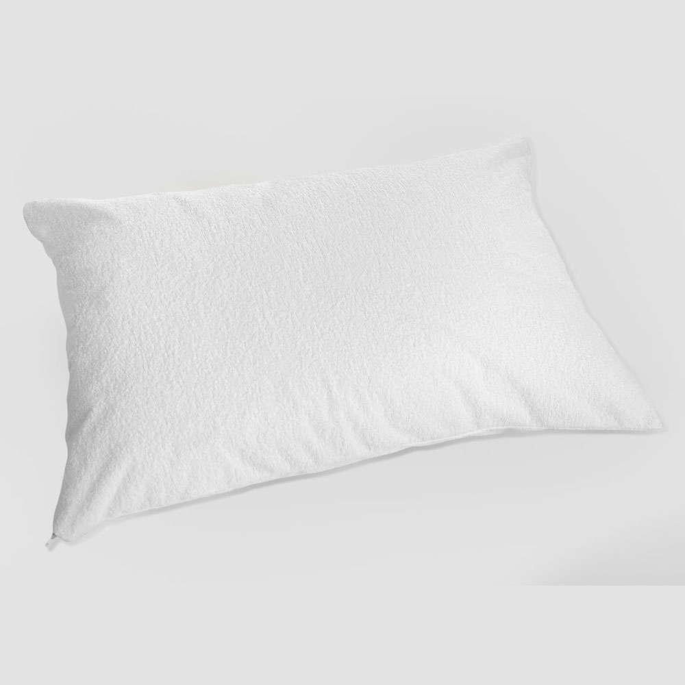 Αδιάβροχο Προστατευτικό Κάλυμμα Μαξιλαριών (Σετ) Bonedry White La Luna 50Χ70