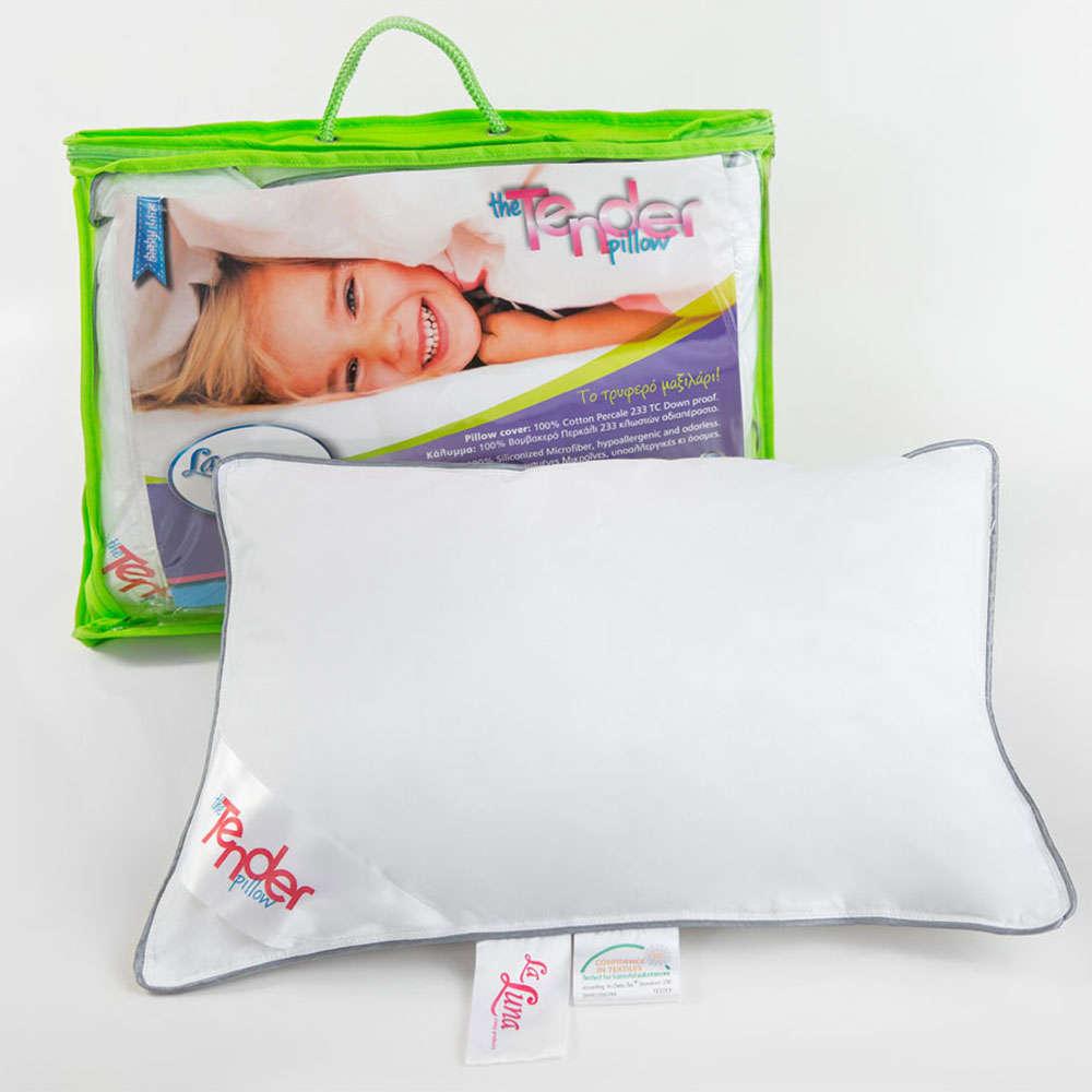 Μαξιλάρι Ύπνου Βρεφικό The Tender Pillow White La Luna