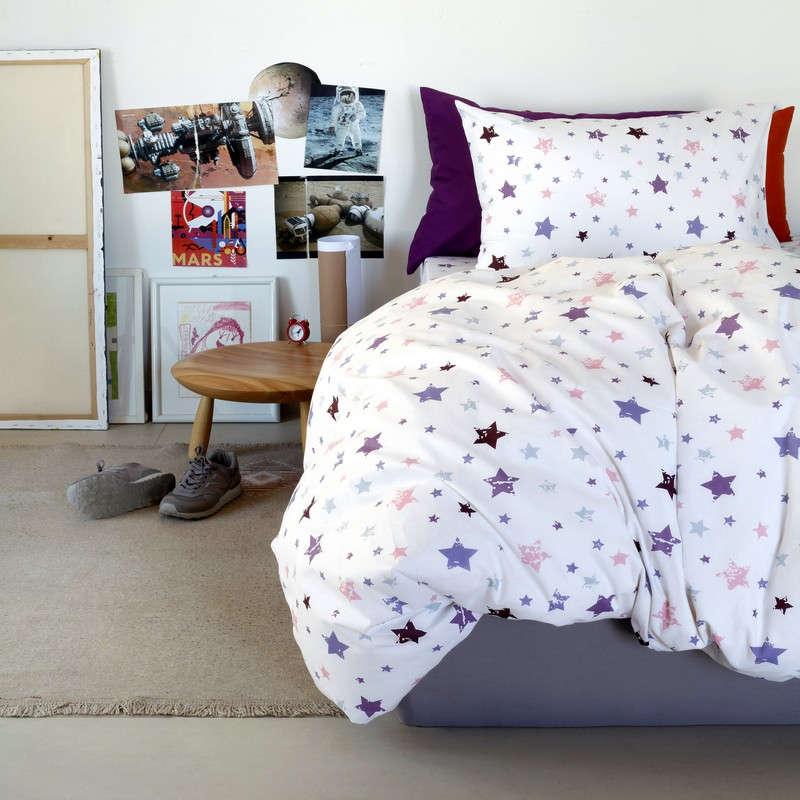Μαξιλαροθήκες Σετ 2Τμχ Παιδικές Kids Line Aster Girl Melinen 55X75 52x72cm