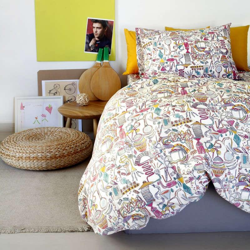 Παπλωματοθήκη Παιδική Kids Line Dream Maker Girl Melinen Μονό 165x260cm