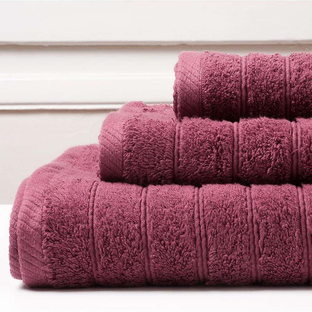 Πετσέτα Colours Burgundy Melinen Σώματος 80x150cm