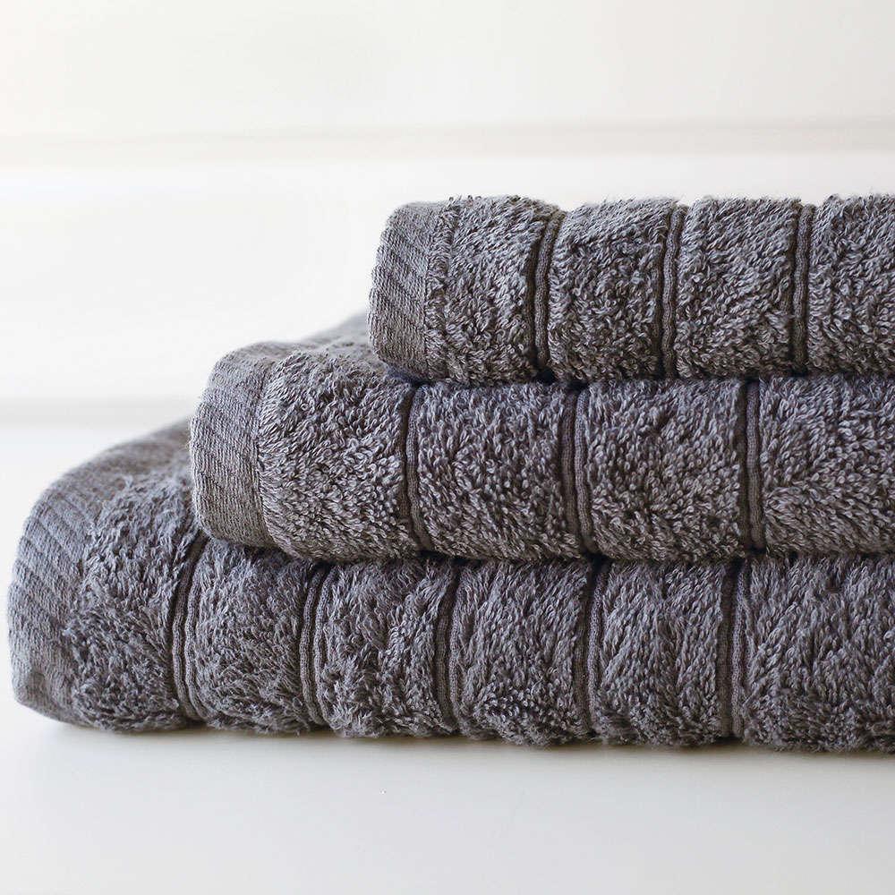 Πετσέτα Colours Dark Grey Melinen Χεριών 30x50cm
