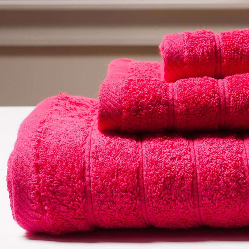 Πετσέτα Colours Fuchsia Melinen Προσώπου 50x90cm