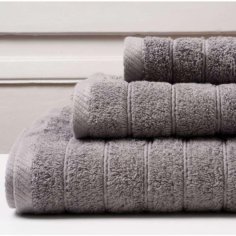 Πετσέτα Colours Grey Melinen Χεριών 30x50cm