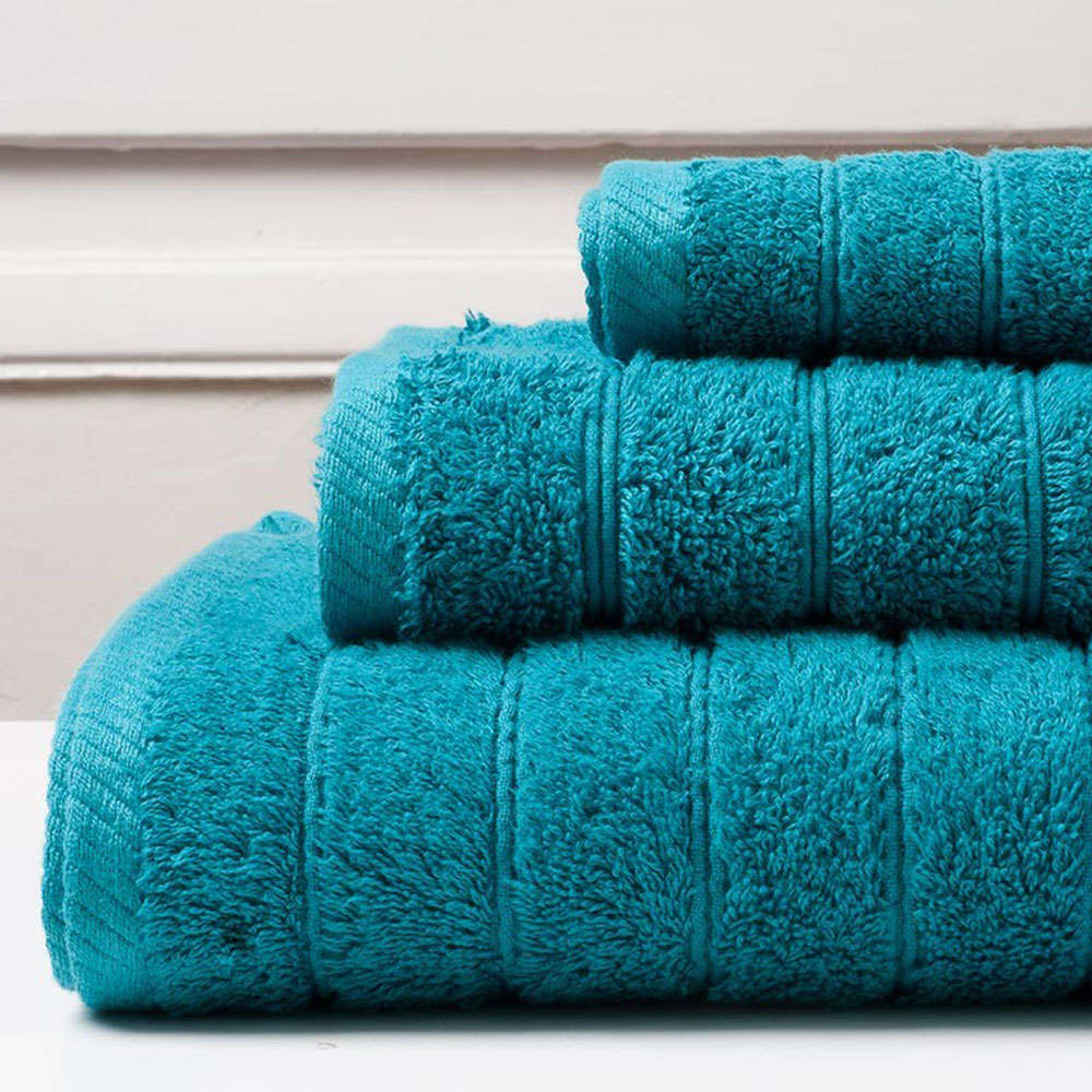 Πετσέτα Colours Teal Melinen Προσώπου 50x90cm