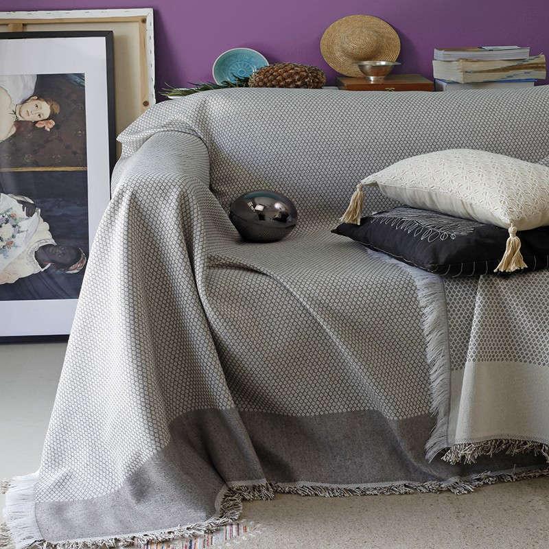 Ριχτάρι Karma Brown Melinen Πολυθρόνα 180x180cm
