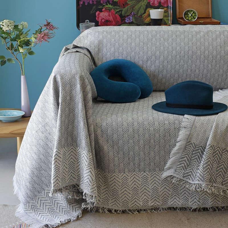 Ριχτάρι Zagi Grey Melinen Πολυθρόνα 180x180cm