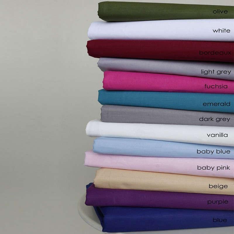 Παπλωματοθήκη Solid Line Solid Baby Pink Melinen Διπλό 200x240cm