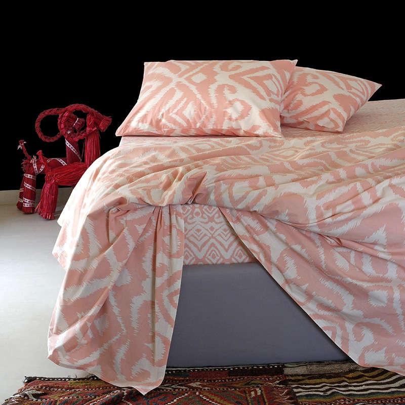 Παπλωματοθήκη Ultra Line Manger Peach Melinen Διπλό 200x245cm