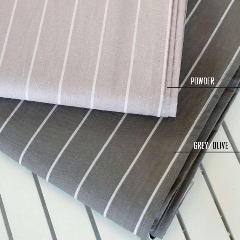 Σεντόνι Μεμονωμένο Ultra Line Με Λάστιχο Ελπίδα Grey/Olive Melinen Μονό 100x232cm