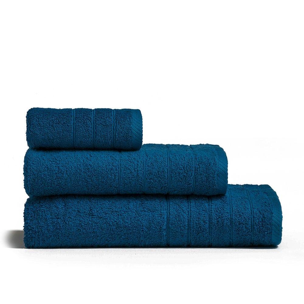 Πετσέτα Fresca Dark Blue Melinen Σώματος
