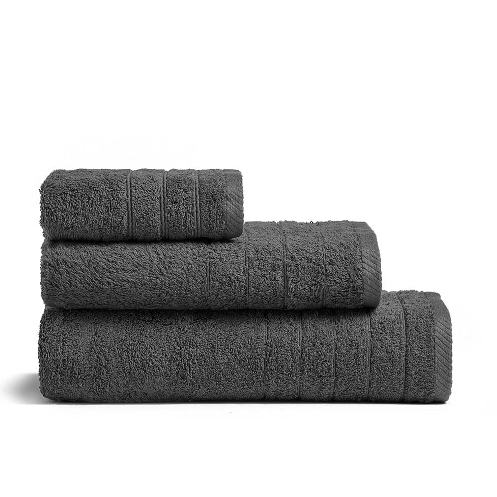 Πετσέτα Fresca Dark Grey Melinen Προσώπου
