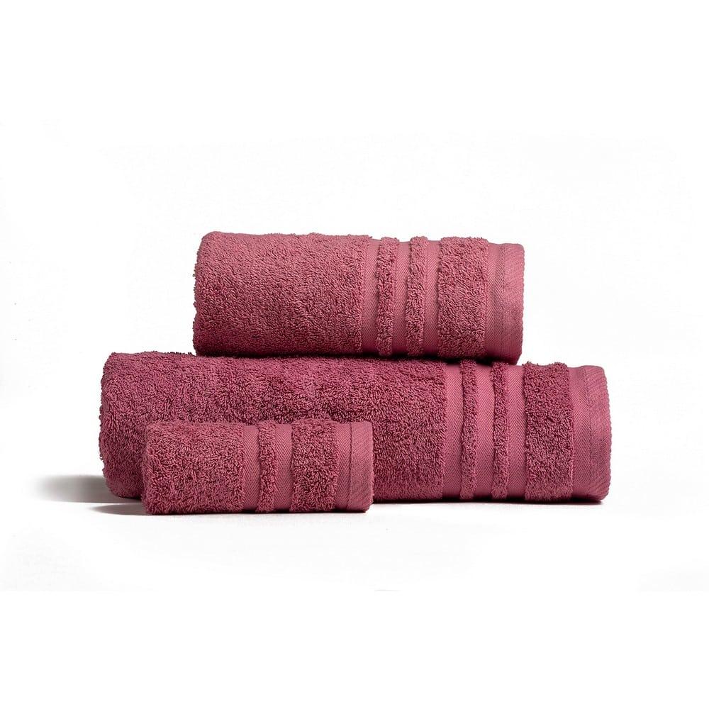 Πετσέτες Premio Σετ 3τμχ Apple Melinen Σετ Πετσέτες