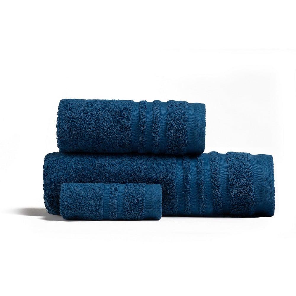 Πετσέτες Premio Σετ 3τμχ Dark Blue Melinen Σετ Πετσέτες