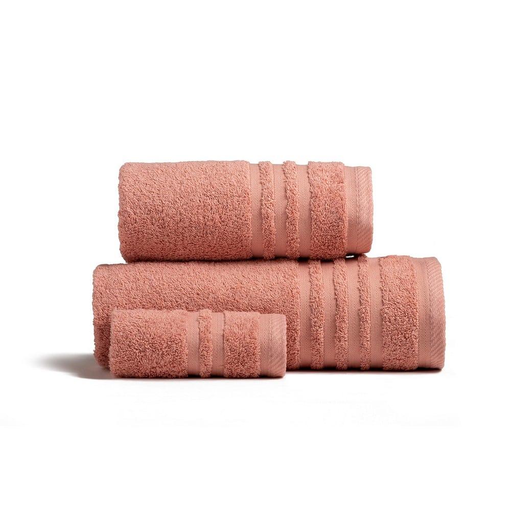 Πετσέτες Premio Σετ 3τμχ Flamingo Melinen Σετ Πετσέτες