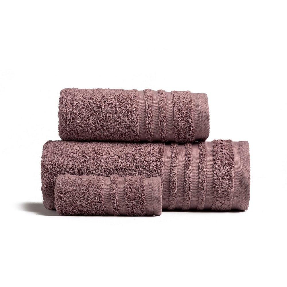 Πετσέτες Premio Σετ 3τμχ Grey – Lilac Melinen Σετ Πετσέτες
