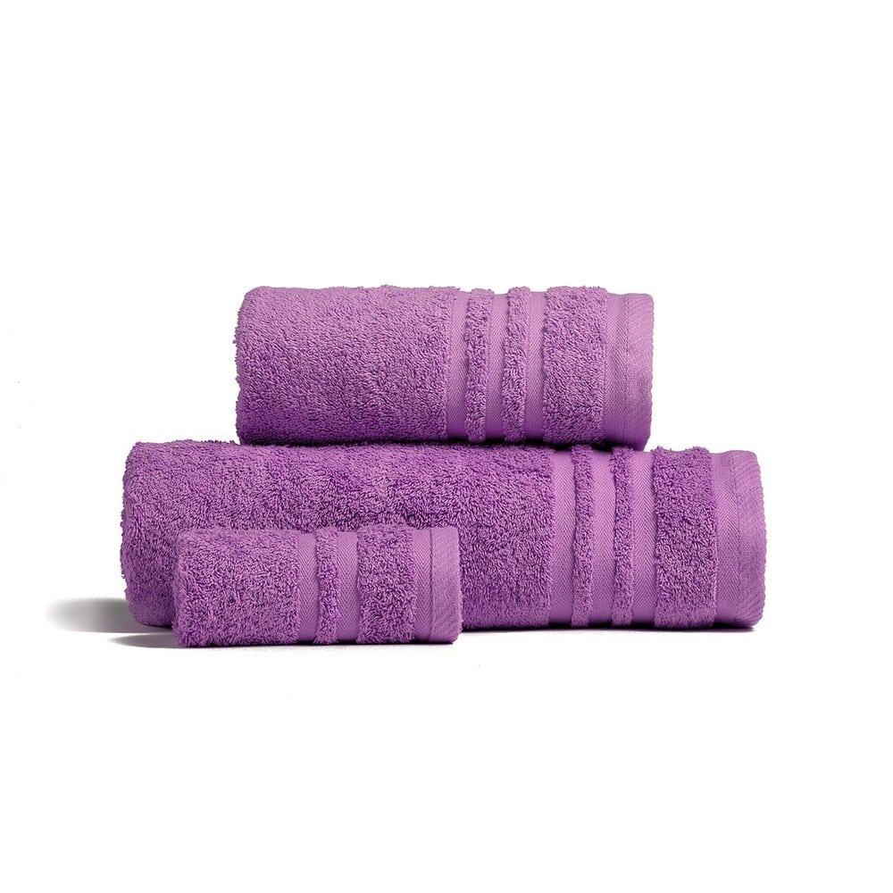 Πετσέτες Premio Σετ 3τμχ Violet Melinen Σετ Πετσέτες