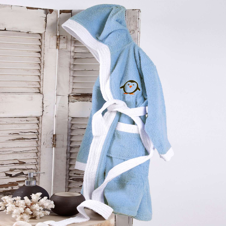 Μπουρνούζι Παιδικό Icey Blue Sb Home 12-14 ετών No 14