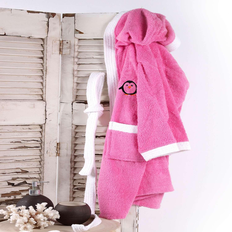 Μπουρνούζι Παιδικό Icey Pink Sb Home 4-6 ετών No 6