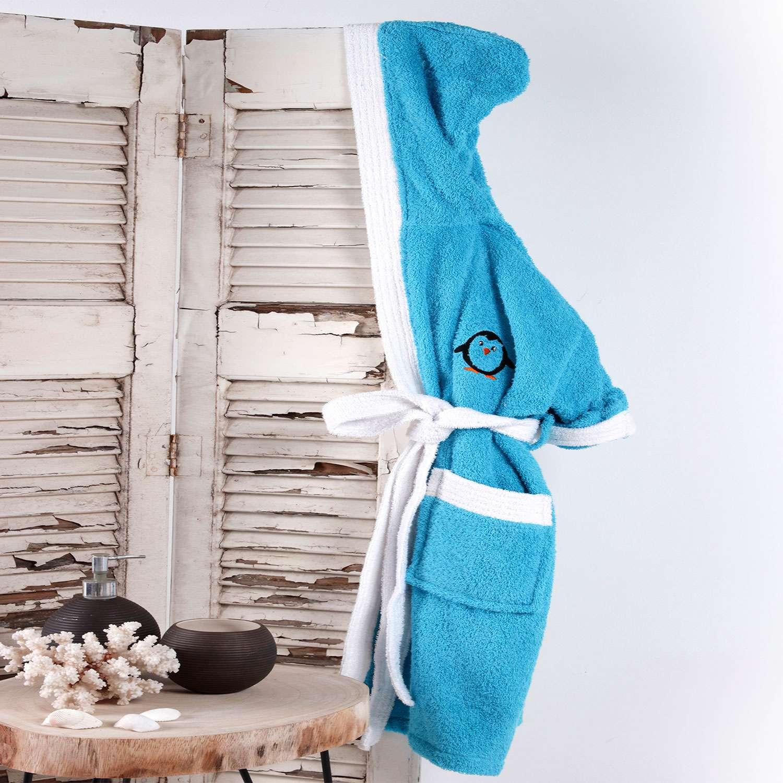 Μπουρνούζι Παιδικό Icey Turquoise Sb Home 8-10 ετών No 10