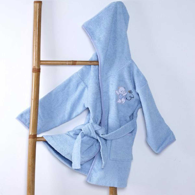 Μπουρνούζι Παιδικό Teddy Bear Blue Sb Home 2-4 ετών No 4