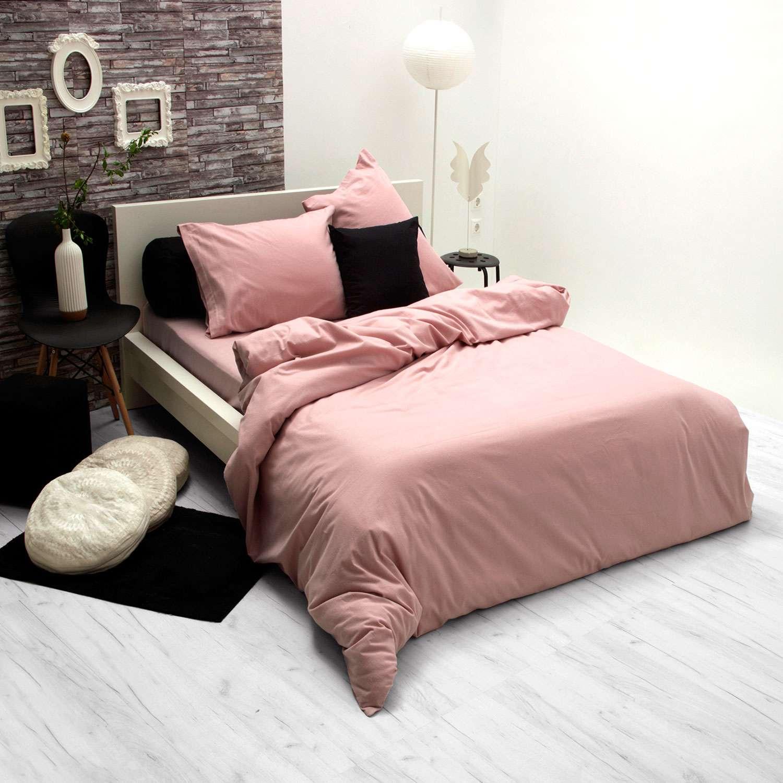 Παπλωματοθήκη Flannel Pink Sb Home Υπέρδιπλo 230x240cm