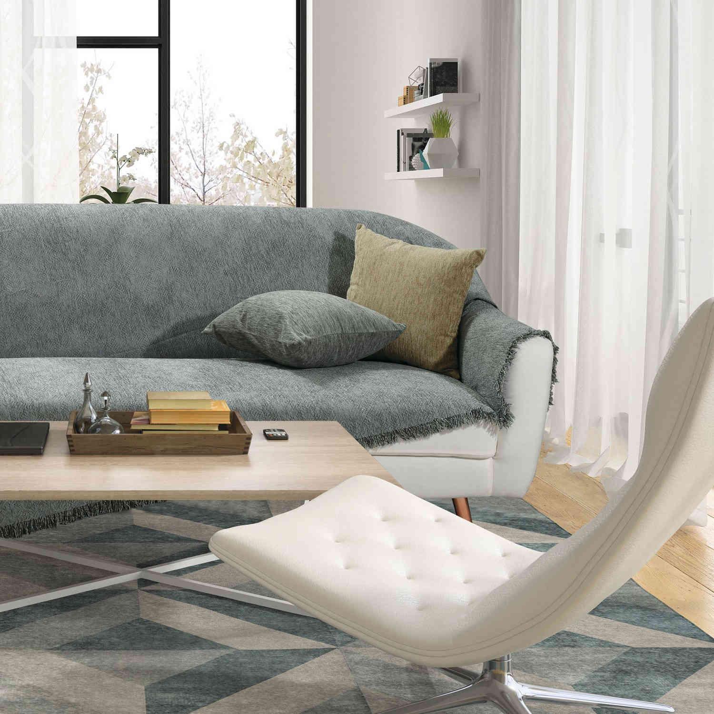 Ριχτάρι 0151 Grey Das Home Διθέσιο 180x250cm