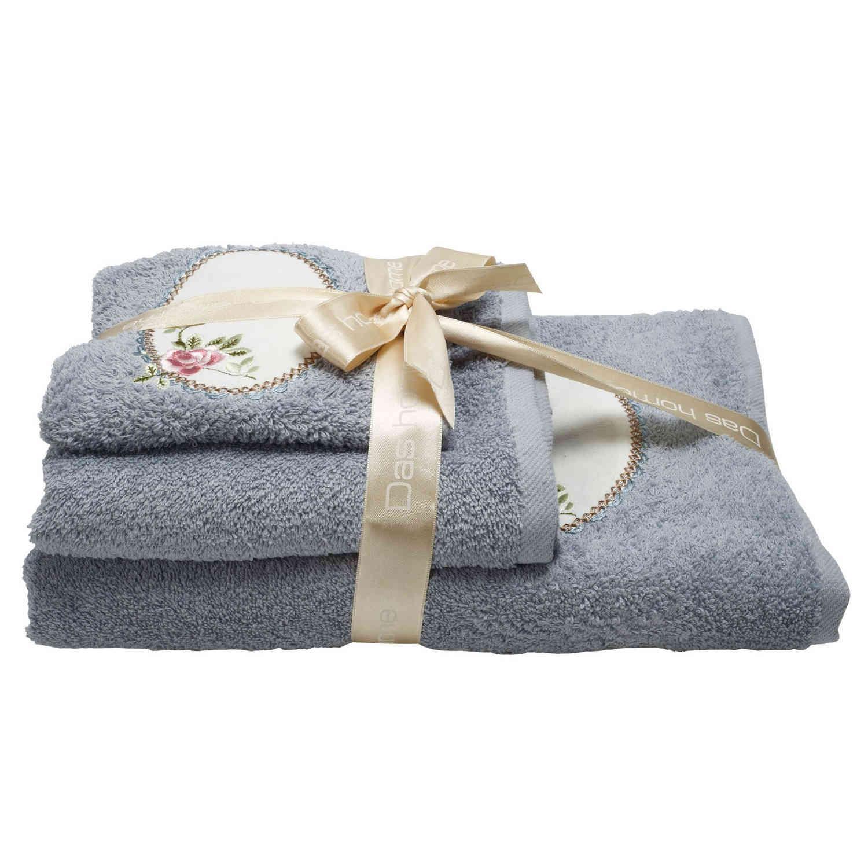 Πετσέτες Σετ 0364 Daily 3Τεμάχια Ciel Das Home Σετ Πετσέτες