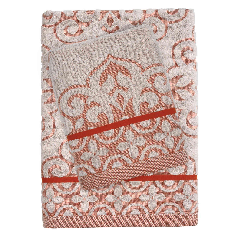 Πετσέτες Σετ 0373 Happy 3Τεμάχια Coral Das Home Σετ Πετσέτες