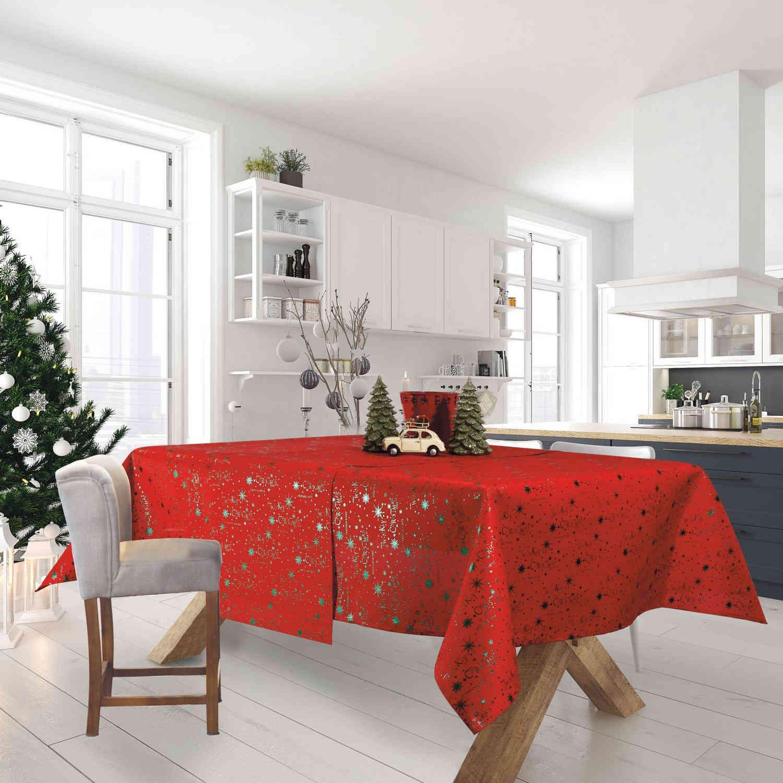 Τραπεζομάντηλο Χριστουγεννιάτικο 0574 Red-Green Das Home 150X250