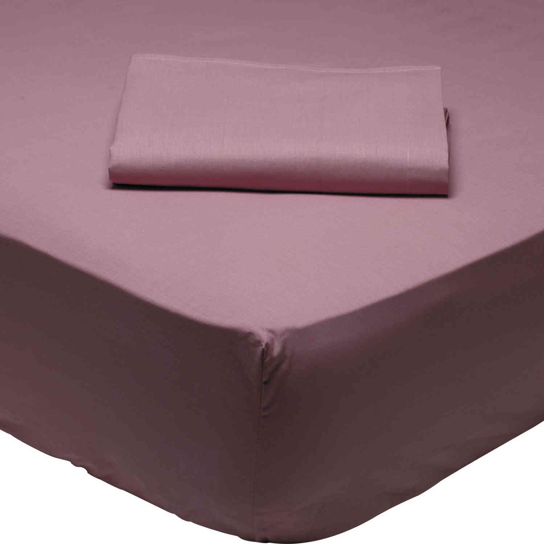 Σεντόνι 1008 Με Λάστιχο Best Colors Burgundy Das Home Υπέρδιπλo 170x200cm