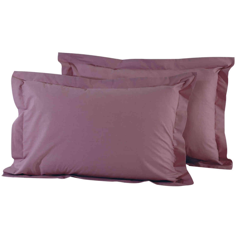 Μαξιλαροθήκες Σετ 2τμχ 1008 Best Colors Burgundy Das Home 50Χ70