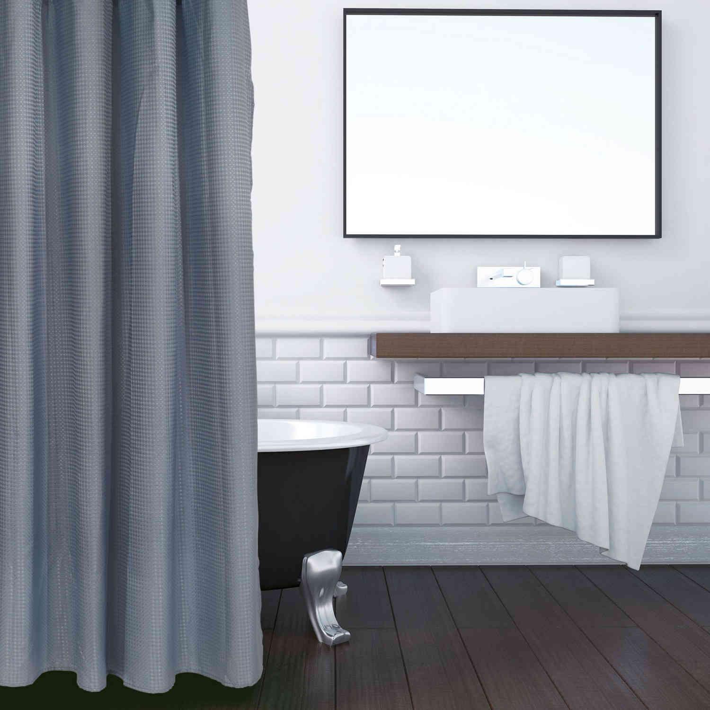Κουρτίνα Μπάνιου 1081 180Χ240 Ciel Das Home Φάρδος 240cm 180x240cm
