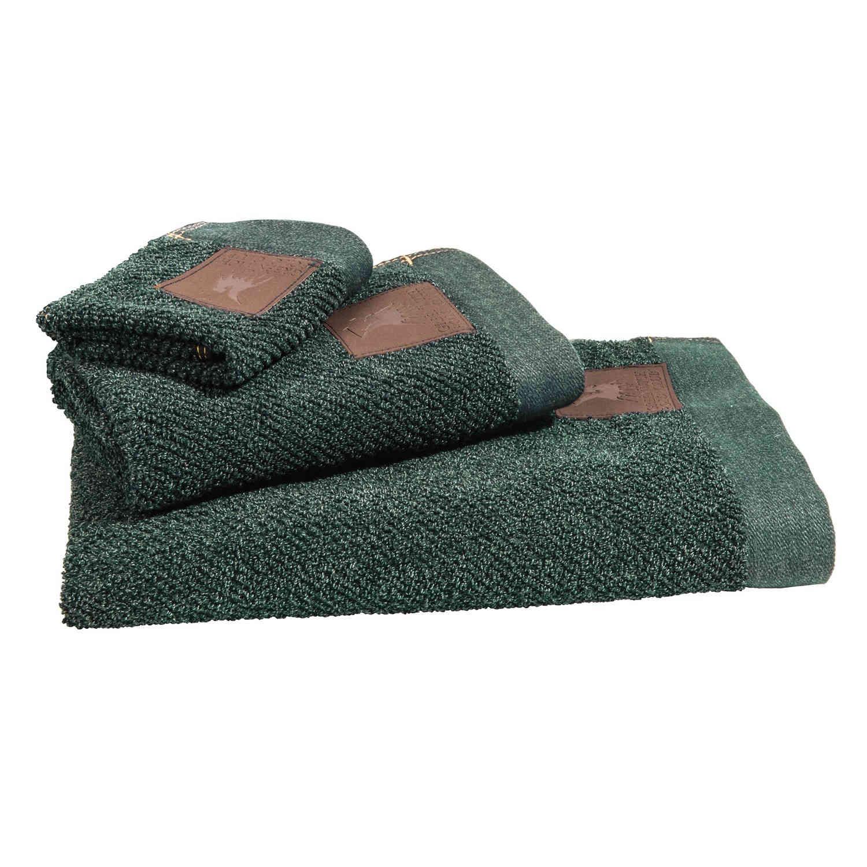 Πετσέτες Σετ 2526 3Τεμ. Essential Green G.P.C. Σετ Πετσέτες