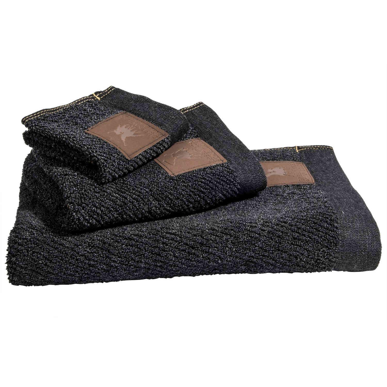Πετσέτες Σετ 2525 2Τεμ. Essential Grey G.P.C. Σετ Πετσέτες