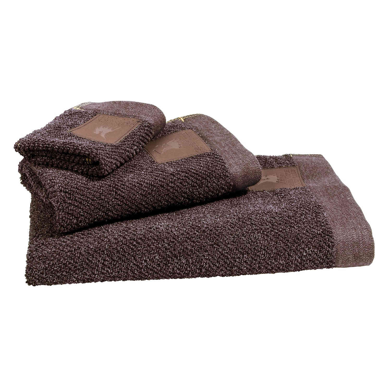Πετσέτες Σετ 2527 2Τεμ. Essential Brown G.P.C. Σετ Πετσέτες