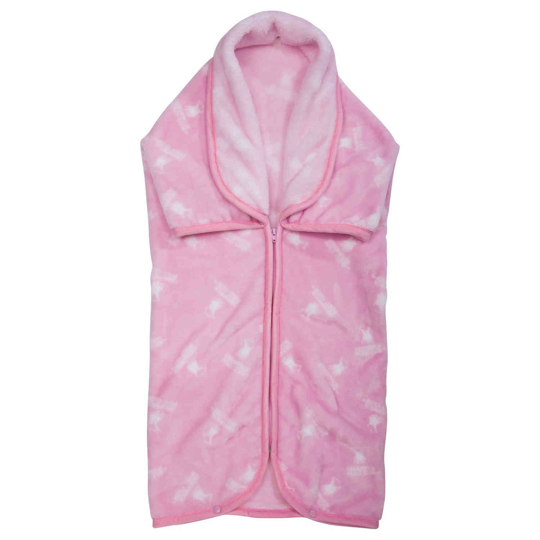Υπνόσακος 2949 Fleece Baby White-Pink G.P.C 0-1 ετών 80x90cm