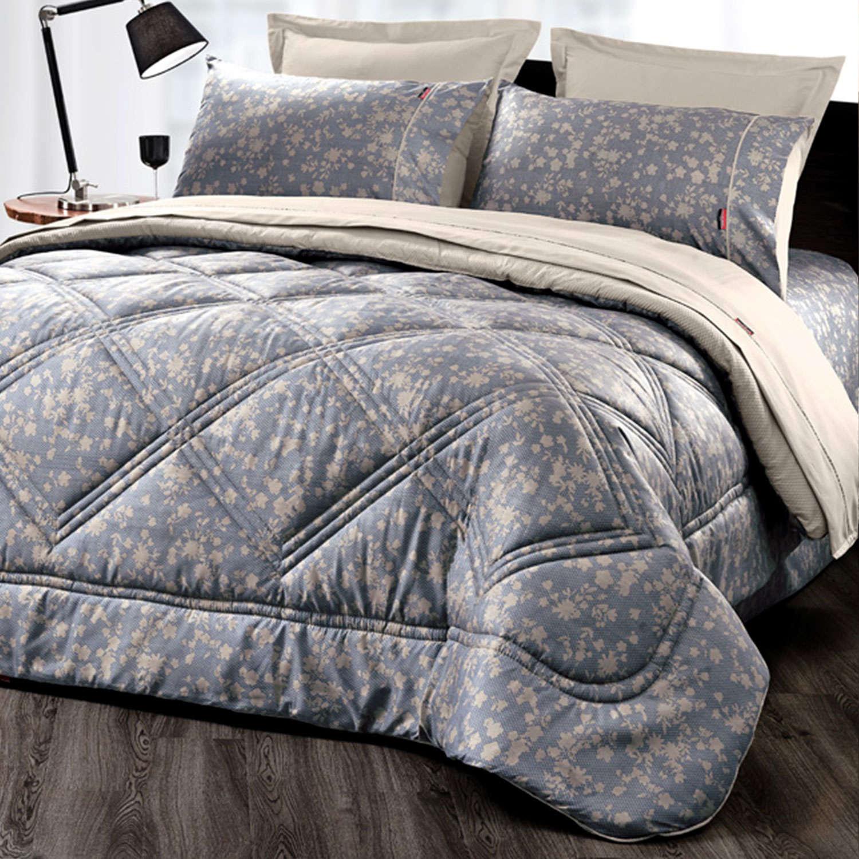 Πάπλωμα Moda + Δώρο Σετ Σεντόνια 4Τμχ. Moda (1+1) Denim Pierre Cardin Υπέρδιπλo 220x240cm