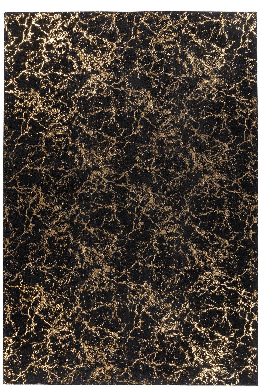 Χαλί Bijou 225 Black-Gold Me Gusta 200X300