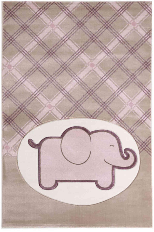 Χαλί Παιδικό Sky 6398D Light Beige-Lila Royal Carpet 70X150