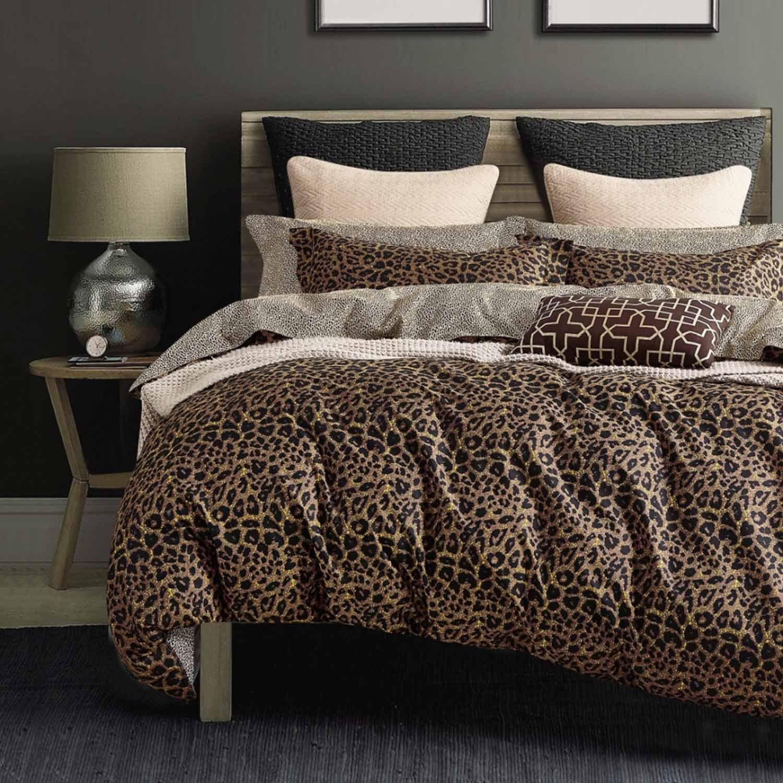 Πάπλωμα Σετ 5τμχ. Bed In A Bag B0654 Brown-Multi Palamaiki Υπέρδιπλo 220x240cm