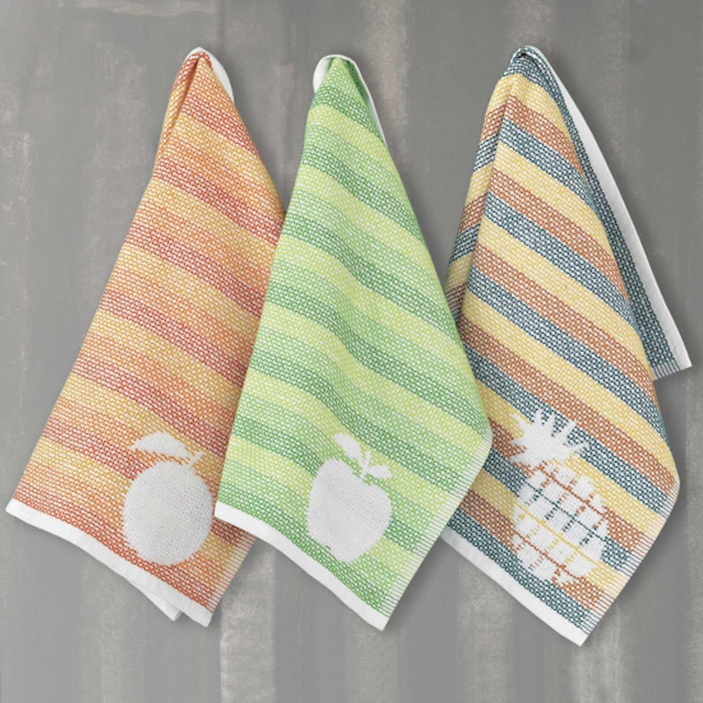 Πετσέτες Κουζίνας Σετ 3τμχ. Victory Multi Palamaiki 50x50cm