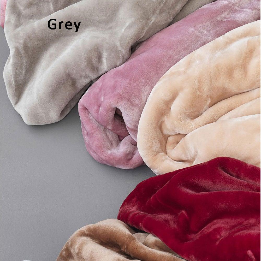 Κουβέρτα Dream Velour Grey Palamaiki Υπέρδιπλo 220x240cm