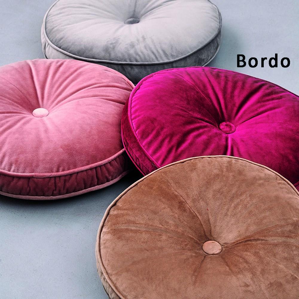 Μαξιλάρι Διακοσμητικό (Με Γέμιση) VF803 Bordo Palamaiki 40Χ40 100% Polyester