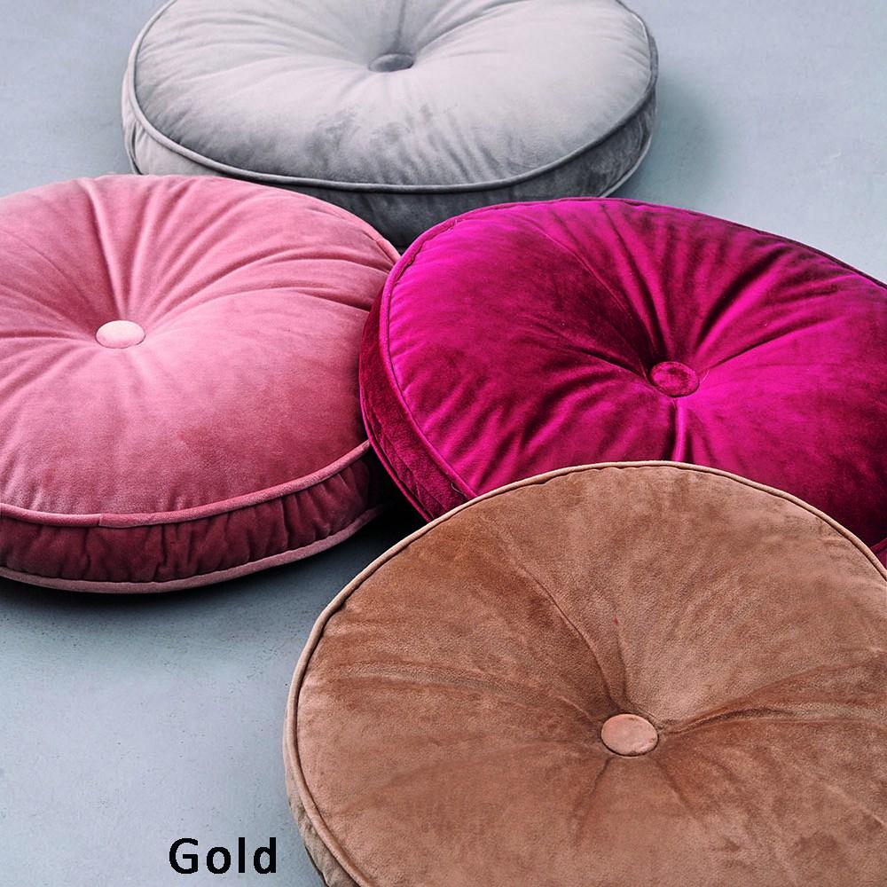 Μαξιλάρι Διακοσμητικό (Με Γέμιση) VF803 Gold Palamaiki 40Χ40 100% Polyester