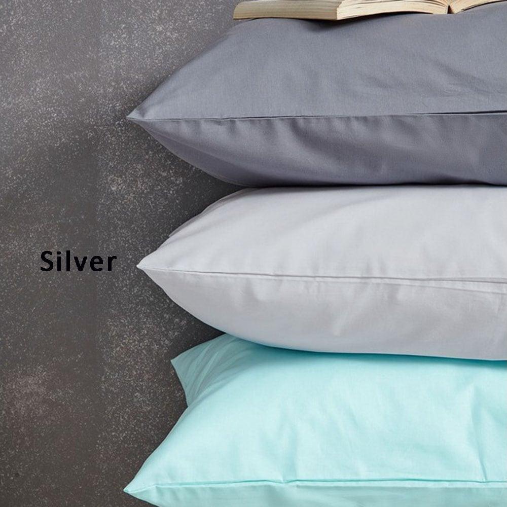 Μαξιλαροθήκες Σετ 2τμχ Etoile Silver Palamaiki 50Χ70 50x70cm
