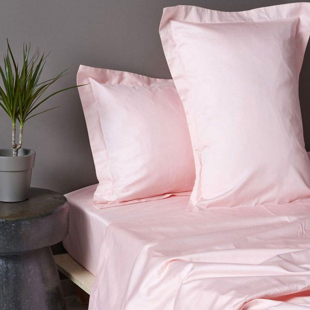 Μαξιλαροθήκες Ζεύγος Luxe Sateen Pink Palamaiki 50Χ70 50x75cm