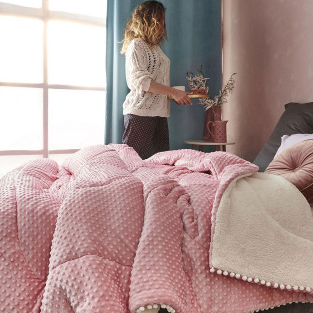Πάπλωμα Desire Pink Palamaiki Υπέρδιπλo 220x240cm